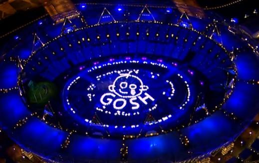 ロンドンオリンピック 開会式 会場がコロナ