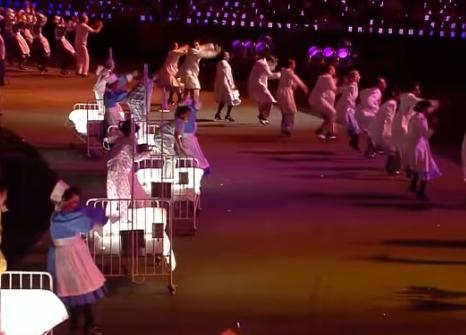 オリンピック ロンドン開会式 ベッド